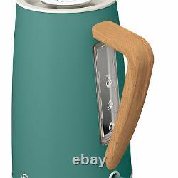 Swan Nordic 1.7 Litre Jug Kettle, 2 Slice Toaster & 800W Freestanding Microwave
