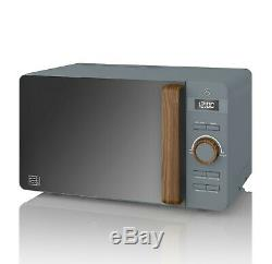 Swan Nordic Grey 800w 20 Litre Microwave SM22036GRYN