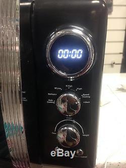 Swan SM22030BN 20 Litre Retro 800W Black Digital Microwave -CLEARANCE SALE