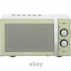 Swan SM22070GN Free Standing Combination Microwave Green
