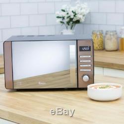 Swan SM22090COPN 800 Watt Microwave Free Standing Copper