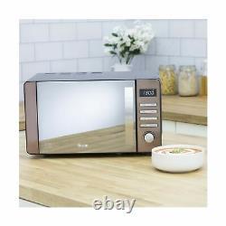 Swan SM22090COPN Digital Microwave, 800w, 20L, Copper