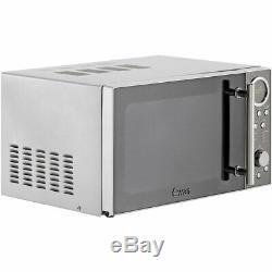 Swan STRP2080N Classic 800 Watt Breakfast Set Microwave Stainless Steel New