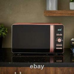 Tower Glitz Blush Pink 20L 800W Digital Microwave (T24021BS) 5 Power settings