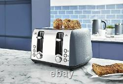 Tower Ice Diamond 20L Microwave, 1.7L Kettle & 4 Slice Toaster Set Brand New