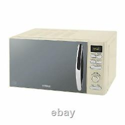 Tower Inifinity T24019C 800W 20L Digital Solo Microwave in Cream Brand New