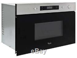 Whirlpool AMW492-IX 22 litre 60cm Built In Microwave Oven Black