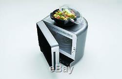 Whirlpool MAX 34 SL Corner Microwave 13L 700W Silver Stunning rapid defrost