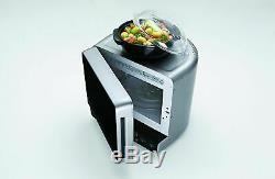 Whirlpool Max 38SL Microwave + Grill Semicircular 700W 3D-System Jet-Defrost 13L