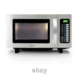 Whirlpool PRO 25IX Commercial 1000W Microwave with 10 Memory Presets (Boxed New)