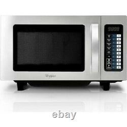 Whirlpool PRO 25 IX 1000w Commercial Microwave