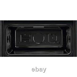 Zanussi MicroMax Built in Compact Microwave with Grill Stainless Steel