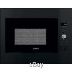 Zanussi ZBM26642BA 900W 26L Built-in Standard Microwave Black ZBM26642BA