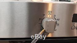 Zanussi ZKC44500XA Built in Combination Microwave Oven Grill in Stainless Steel