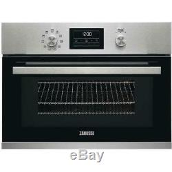 Zanussi ZKK47901XK Built In 1000W Combination Microwave Stainless Steel